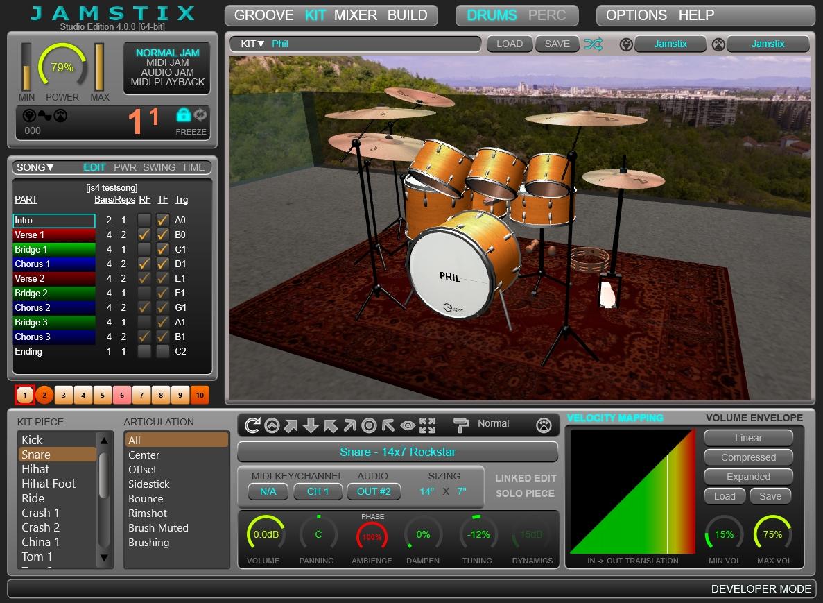 rayzoon virtual drum software jamstix virtual drummer update. Black Bedroom Furniture Sets. Home Design Ideas