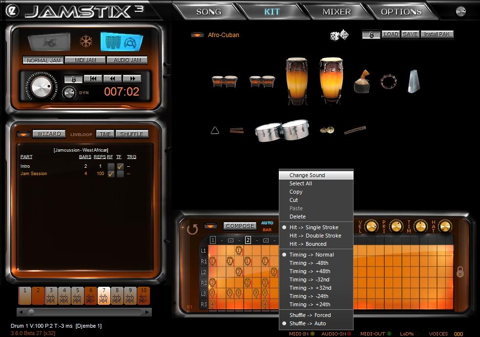 virtual drums  free software